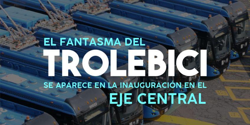 Trolebici, Bicitekas, Fonacipe, fondos públicos, Hector Serrano, Tungui